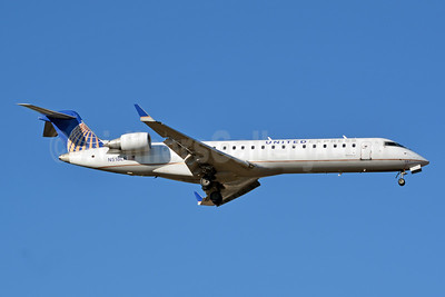 United Express-Mesa Airlines Bombardier CRJ700 (CL-600-2C10) N518LR (msn 10259) CLT (Jay Selman). Image: 403817.