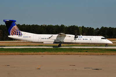 United Express-Republic Airlines (2nd) Bombardier DHC-8-402 (Q400) N356NG (msn 4356) RDU (Ken Petersen). Image: 911788.