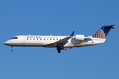United Express-SkyWest Airlines Bombardier CRJ200 (CL-600-2B19) N970SW (msn 7881) LAX (Michael B. Ing). Image: 936127.
