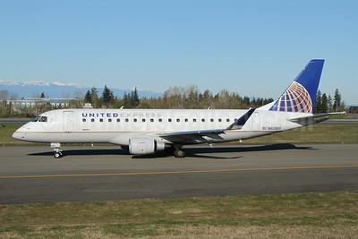 United Express-SkyWest Airlines Embraer ERJ 170-200LL (ERJ 175) N603UX (msn 17000796) PAE (Nick Dean). Image: 953462.