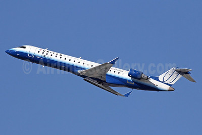 United Express-SkyWest Airlines Bombardier CRJ700 (CL-600-2C10) N770SK (msn 10243) LAX (Michael B. Ing). Image: 921598.