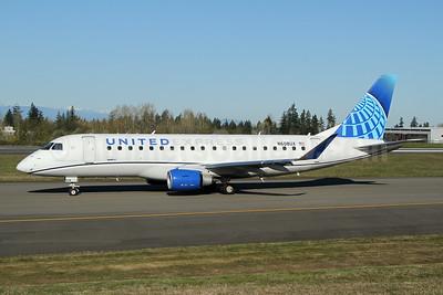 United Express-SkyWest Airlines Embraer ERJ 170-200LL (ERJ 175) N608UX (msn 17000806) PAE (Nick Dean). Image: 953478.