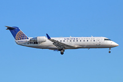 United Express-SkyWest Airlines Bombardier CRJ200 (CL-600-2B19) N479CA (msn 7675) LAX (Michael B. Ing). Image: 941704.