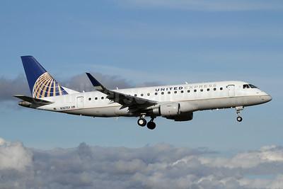 United Express-SkyWest Airlines Embraer ERJ 170-200LR (ERJ 175) N167SY (msn 17000616) PAE (Nick Dean). Image: 946206.