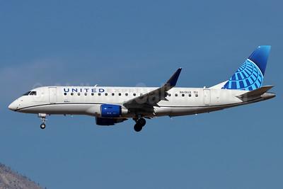 United Express-SkyWest Airlines Embraer ERJ 170-200LL (ERJ 175) N618UX (msn 17000820) ONT (Michael B. Ing). Image: 952575.