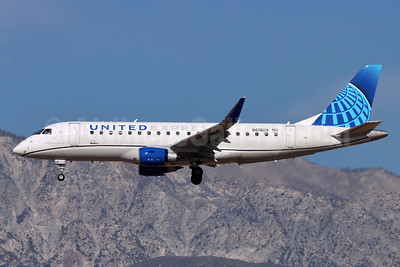 United Express-SkyWest Airlines Embraer ERJ 170-200LL (ERJ 175) N618UX (msn 17000820) ONT (Michael B. Ing). Image: 952574.