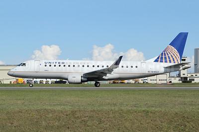 United Express-SkyWest Airlines Embraer ERJ 170-200LR (ERJ 175) N145SY (msn 17000484) PAE (Nick Dean). Image: 946136.