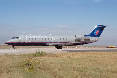 United Express-SkyWest Airlines Bombardier CRJ200 (CL-600-2B19) N953SW (msn 7813) DEN (Fred Freketic). Image: 950061.