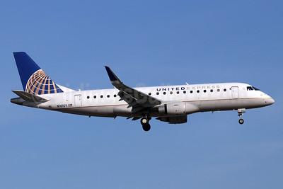 United Express-SkyWest Airlines Embraer ERJ 170-200LR (ERJ 175) N161SY (msn 17000569) SNA (Michael B. Ing). Image: 947330.
