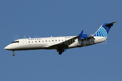 United Express-SkyWest Airlines Bombardier CRJ200 (CL-600-2B19) N468CA (msn 7649) IAD (Brian McDonough). Image: 951263.