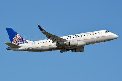 United Express-SkyWest Airlines Embraer ERJ 170-200LR (ERJ 175) N133SY (msn 17000452) CLT (Jay Selman). Image: 403315.