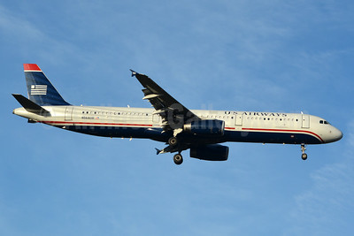 The end of an era: The last US Airways mainline aircraft to be repainted