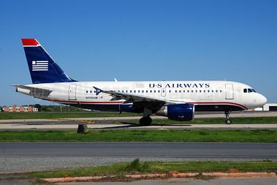US Airways Airbus A319-112 N705UW (msn 929) CLT (Bruce Drum). Image: 101665.