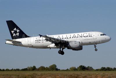 US Airways Airbus A319-112 N702UW (msn 896) (Star Alliance) CLT (Jay Selman). Image: 402132.