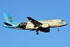 US Airways Airbus A319-112 N717UW (msn 1069) (Carolina Panthers) CLT (Jay Selman). Image: 402134.