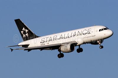 US Airways Airbus A319-112 N700UW (msn 885) (Star Alliance) DCA (Brian McDonough). Image: 920963.