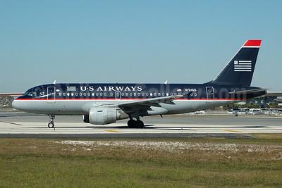 US Airways Airbus A319-112 N704US (msn 922) FLL (Bruce Drum). Image: 104792.