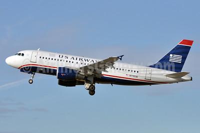 US Airways Airbus A319-112 N710UW (msn 1019) CLT (David Neal). Image: 905958.