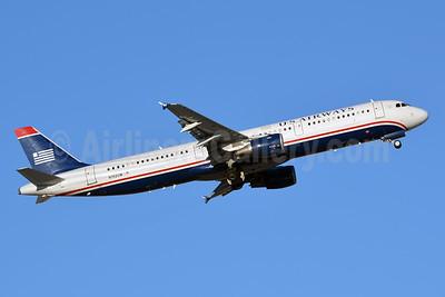 US Airways Airbus A321-211 N192UW (msn 1496) LAS (Jay Selman). Image: 402513.