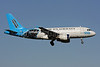 US Airways Airbus A319-112 N717UW (msn 1069) (Carolina Panthers) DCA (Brian McDonough). Image: 907477.