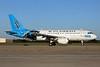 US Airways Airbus A319-112 N717UW (msn 1069) (Carolina Panthers) CLT (Jay Selman). Image: 402161.
