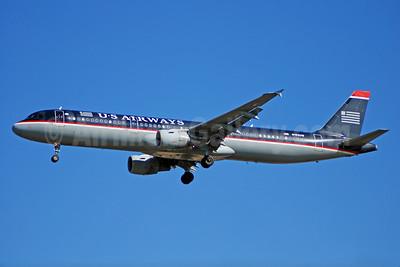 US Airways Airbus A321-211 N192UW (msn 1496) CLT (Bruce Drum). Image: 100040.