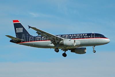 US Airways Airbus A319-112 N711UW (msn 1033) FLL (Bruce Drum). Image: 104793.