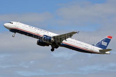 US Airways Airbus A321-211 N192UW (msn 1496) CLT (Jay Selman). Image: 402512.