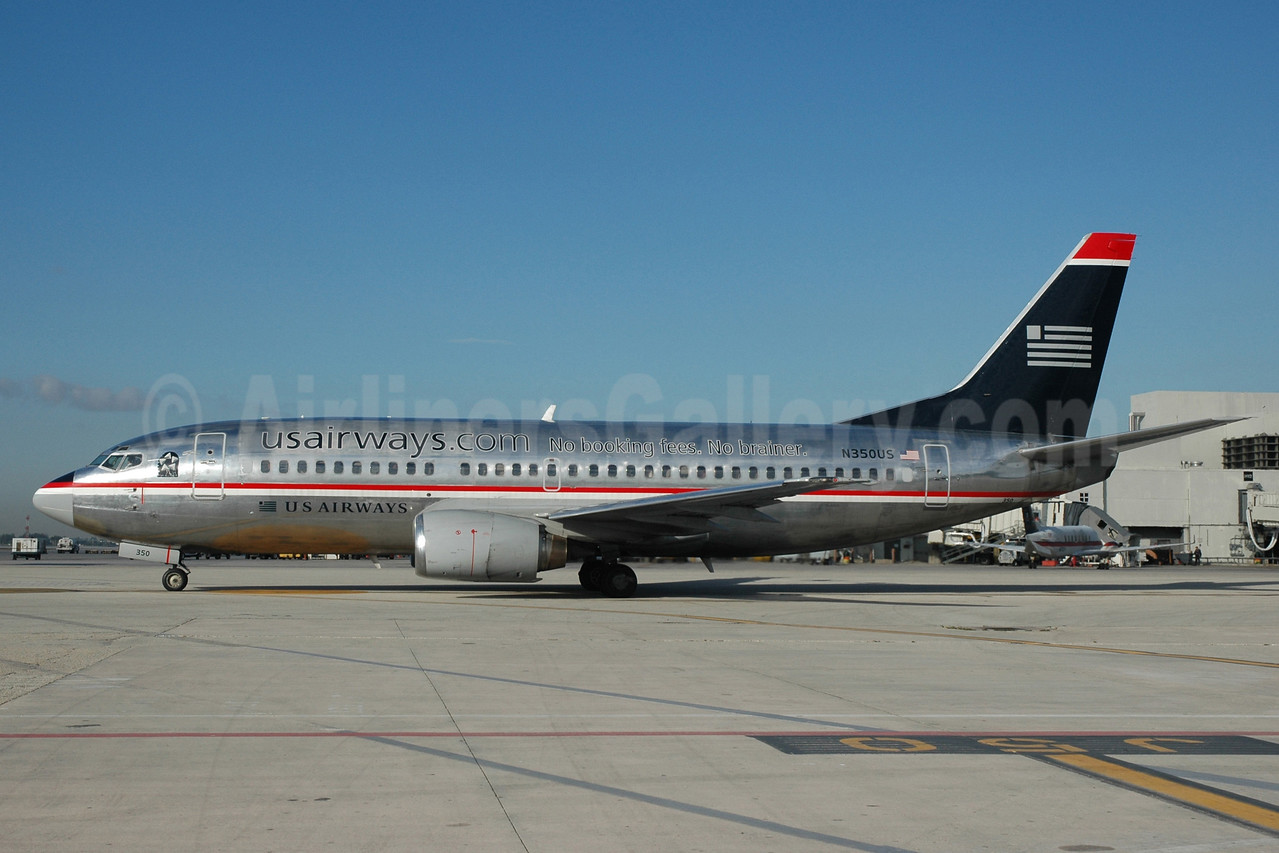 "US Airways' rare and short-lived ""No booking fees No brainer"""