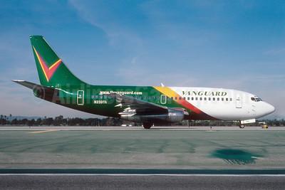Vanguard Airlines Boeing 737-25A N239TA (msn 23789) LAX (Roy Lock). Image: 909734.