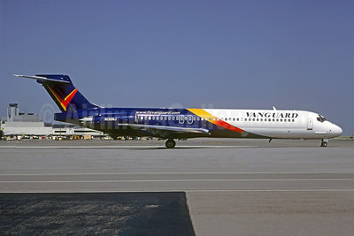 Vanguard Airlines McDonnell Douglas DC-9-87 (MD-87) N136NJ (msn 49413) SFO (Christian Volpati Collection). Image: 942351.