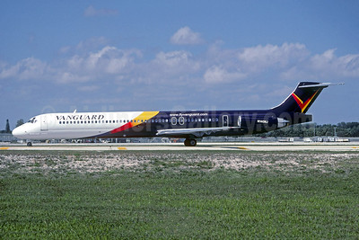 Vanguard Airlines McDonnell Douglas DC-9-82 (MD-82) N140NJ (msn 49931) FLL (Christian Volpati Collection). Image: 942348.