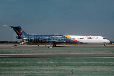 Vanguard Airlines McDonnell Douglas DC-9-83 (MD-83) N131NJ (msn 49846) LAX (Roy Lock). Image: 909736.