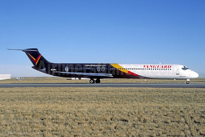 Vanguard Airlines McDonnell Douglas DC-9-82 (MD-82) N130NJ (msn 49222) (Christian Volpati Collection). Image: 942346.