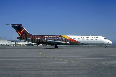 Vanguard Airlines McDonnell Douglas DC-9-87 (MD-87) N132NJ (msn 49780) SFO (Christian Volpati Collection). Image: 942349.