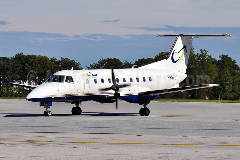 ViaAir (Via Airlines) Embraer EMB-120 Brasilia N652CT (msn 120289) BWI (Tony Storck). Image: 935676.