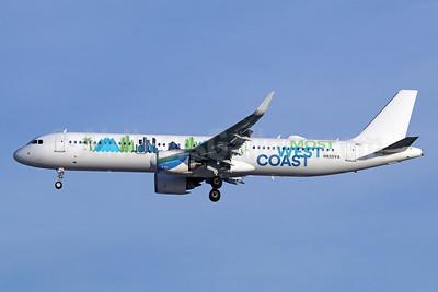 Virgin America Airbus A321-253N WL N925VA (msn 7999) (Most West Coast) LAX (Michael B. Ing). Image: 940778.