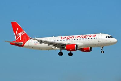 Virgin America Airbus A320-214 N851VA (msn 4999) FLL (Bruce Drum). Image: 104555.