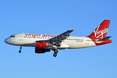 Virgin America Airbus A319-112 N525VA (msn 3324) LAS (Jay Selman). Image: 403633.
