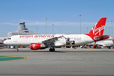 Virgin America Airbus A320-214 N849VA (msn 4991) (Giants) SFO (Mark Durbin). Image: 934906.