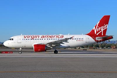 Virgin America Airbus A319-112 N527VA (msn 3417) LAX. Image: 921605.