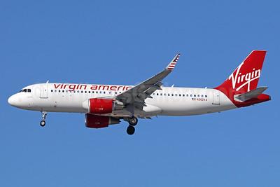 Virgin America Airbus A320-214 N362VA (msn 6965) LAX (Michael B. Ing). Image: 938955.