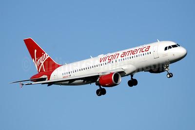 Virgin America Airbus A320-214 N851VA (msn 4999) DCA (Jay Selman). Image: 403634.