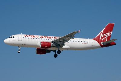Virgin America Airbus A320-214 N843VA (msn 4814) LAS (Jay Selman). Image: 403292.