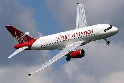 Virgin America Airbus A319-112 N524VA (msn 3204) DCA (Brian McDonough). Image: 913228.