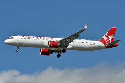 Virgin America Airbus A321-253N WL N922VA (msn 7639) JFK (Fred Freketic). Image: 942032.