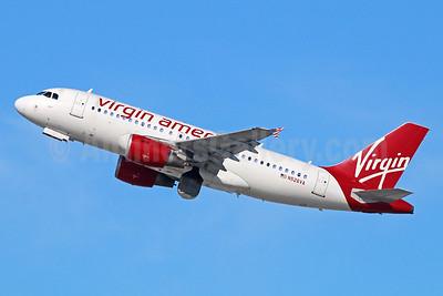 Virgin America Airbus A319-112 N526VA (msn 3347) LAX (Michael B. Ing). Image: 925448.