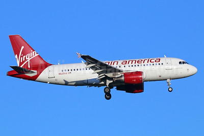 Virgin America Airbus A319-112 N525VA (msn 3324) SEA (Michael B. Ing). Image: 939417..
