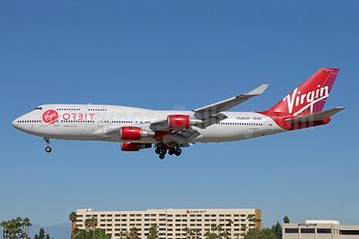 Virgin Orbit Boeing 747-41R N744VG (msn 32745) (Virgin Atlantic colors) LGB (Michael B. Ing). Image: 944040.
