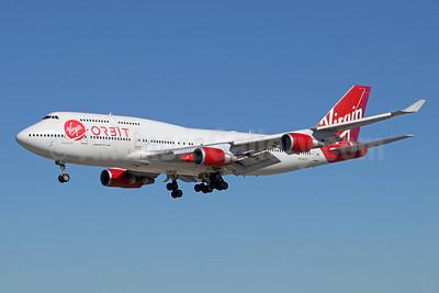 "Ex-Virgin Atlantic G-VWOW, now N744VG ""Cosmic Girl"""